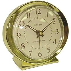 WESTCLOX 11605QA Gold Baby Ben Battery Powered Alarm