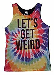 Lets Get Weird Graphic Tank Top - X-Large