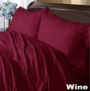 Scala S�bana encimera con 2 fundas de almohada, algodón egípcio, UK Single