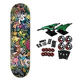 Santa Cruz Skateboard Complete Teenage Mutant Ninja Turtles Toys Everslick 8.0'