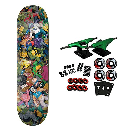 Santa Cruz Skateboard Complete Teenage Mutant Ninja Turtles Toys Everslick 8.0
