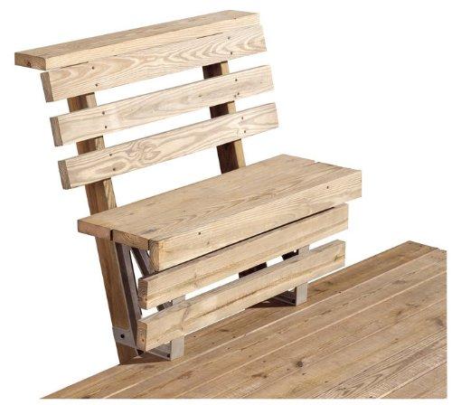 2x4 Basics Bench Bracket for Decks