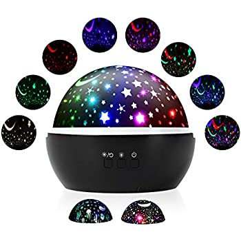 Star Projector Night Lights For Kids Rotating Ocean