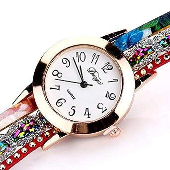 Daringjourney Reloj para Mujer, Reloj de Cuarzo, Reloj con ...