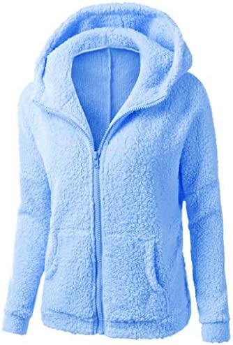 レディース コート 無地厚くする 保温する 冬の暖かいウールジッパーコートコットンコート生き抜くフード付きセーターコート