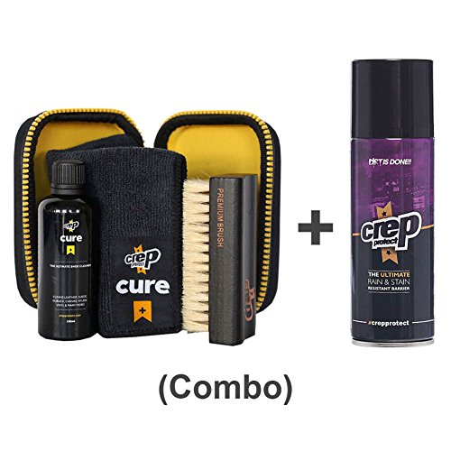 Crep Protect Cure Travel Kit and Stain Resistant Shoe Spray (Resistant Kit)