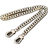 Six Sides Be Polished Wide 10mm Golden Chain for Women Bags Replacement Purse Chain/Chain Strap/Chain Purse Strap/Purse Chain Straps (Length 31 inch)