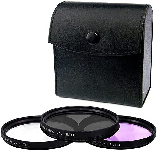 C-PL Multicoated Circular Polarizer for Sony DCR-SX45 37mm Multithreaded Glass Filter