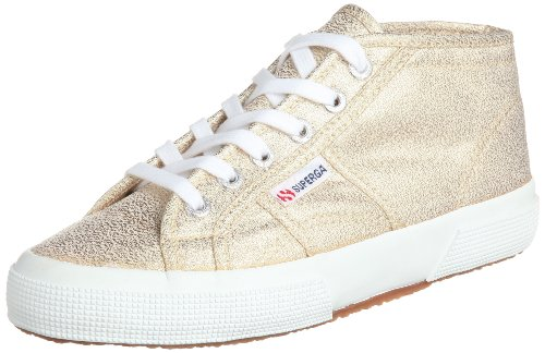 5 femme 2754 Superga Lame Sneakers 37 Or basses Gold 174 w1WqWz