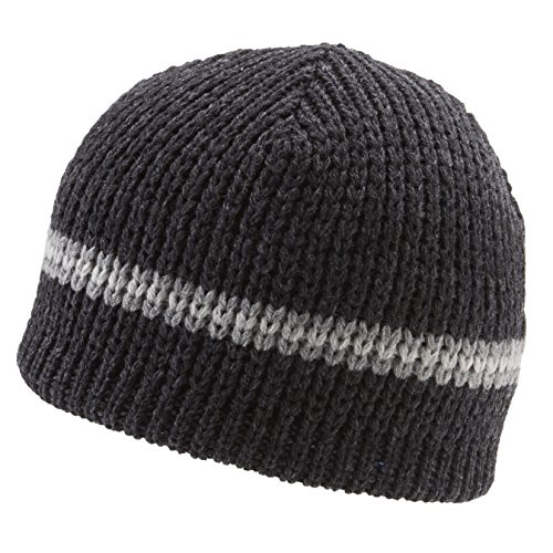 Icebox Knitting Dohm Classic Stripe Winter Wool Pepper Hat Beanie Skull Cap For Men and - Beanie Stripe Classic Usa