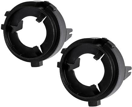 Koomtoom H7 Led Scheinwerfer Lampenfassung Sockelbasis Adapter Halter Amazon De Auto