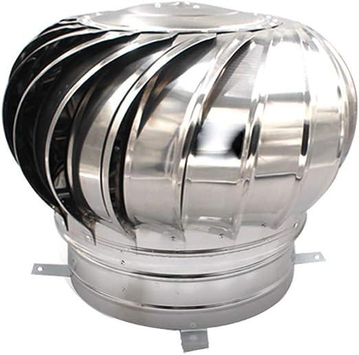Zhimeio Ventilador turbina, Acero Inoxidable 304 de Techo ...