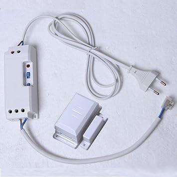 DIW – Control empotrable el de 2090 de S hasta 2300 W con ventana interruptor de contacto