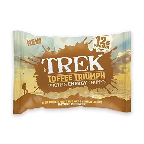 (Trek Chunks - Toffee Triumph 60g (Pack of 14))