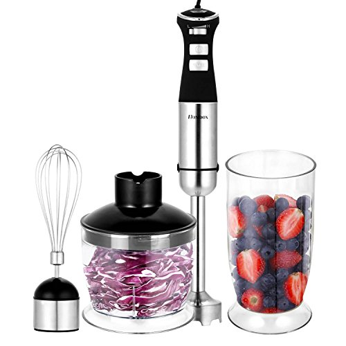 4-Speed Power Blender Juicer and Mixer (White) - 8