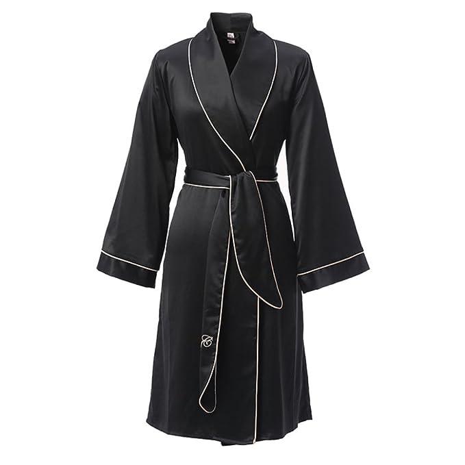 Bordado De Las Mujeres Camisones Atractivos Pijamas Albornoces Largos Albornoz Ropa Para El Hogar Vestidos De