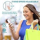 ZC GEL Mini Handheld Fan,3-in-1 Rechargeable