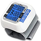 Easy@Home Digital Wrist Blood Pressure Monitor (BP Monitor) with Pulse Meter and Backlit Large Display, EBP-017