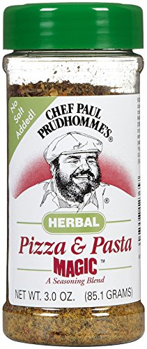 Chef Paul Magic Seasoning Blends Herbal Pizza and Pasta MagicBtls - 3 oz