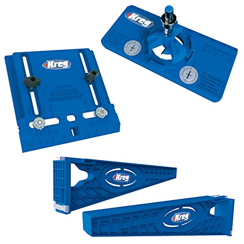 Kreg Tool Company - Drawer Slide Jig with Cabinet Hardware Jig and Concealed Hinge Jig - KHI-SLIDE, KHI-PULL, KHI-HINGE Tools And Hardware
