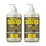 #10: Everyone 3-in-1 soap, Coconut plus Lemon, 32 oz, 2 Count