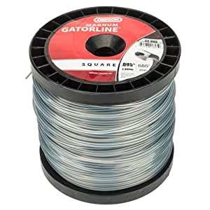 Oregon 22-895 Gatorline Heavy-Duty Professional Magnum .095-Inch-by-685-Foot, 3-Pound Spool of Square String Trimmer Line