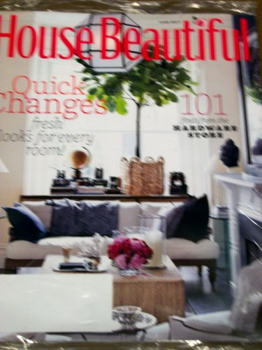 House Beautiful June 2011 Quick Changes 101 Finds From the Hardware Store Hardware Trout