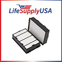 2 Pack fit to Holmes, HEPA Air Filter, Compare To Filter Part HRC1, Holmes Part # HAPF600, HAPF600D, HAPF600D-U2 By LifeSupplyUSA