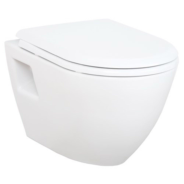 Tappeto bagno doccia EXTRA corta con Bidet sospeso Taharat senso biblico doccia TP325 con soft-close con coperchio Creavit