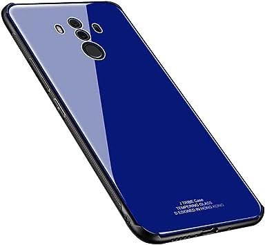 Blossom01 Funda Huawei Mate 10 Pro, Cubierta Trasera de Vidrio ...