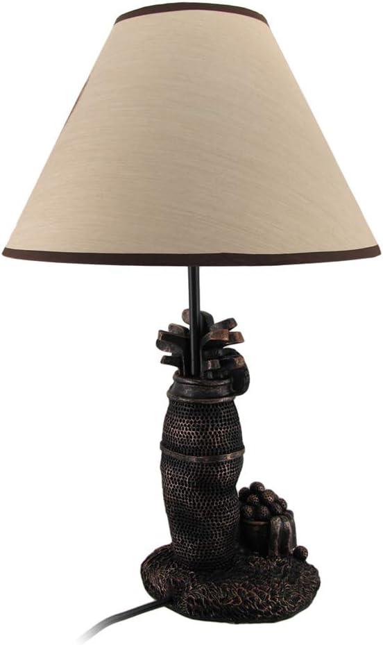 "25/"" Standing Black Bear Lamp Forest Print Shade Figural Night Light Lamp Decor"
