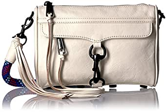 Rebecca Minkoff Mini Mac with Climbing Rope, Antique White