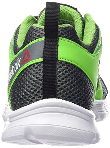 Reebok Run Supreme 2.0 - Zapatillas de running unisex Gris / Verde / Blanco