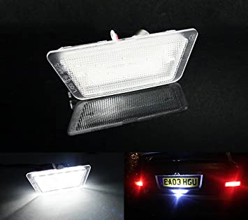 1x Vauxhall Astra MK4//G Bright Xenon White LED Number Plate Upgrade Light Bulb
