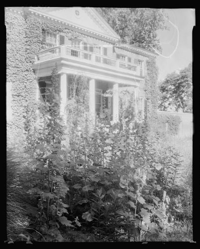 - HistoricalFindings Photo: Blandfield,garden,columns,Caret,Essex County,VA,Virginia,Architecture,South,1935