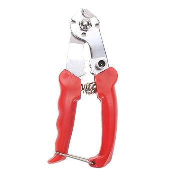 UEB Herramienta de reparación del cortador ,Corta cable de alambre de bicicleta,alicate bicicleta corta linea +Rojo: Amazon.es: Deportes y aire libre