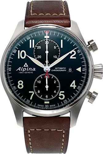 Alpina Geneve STARTIMER PILOT AUTO CHRONO AL-725N4S6 Mens Chronograph Alpina Rotor