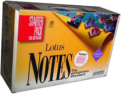 Lotus Notes Release 3.1 Starter Pack for Netware