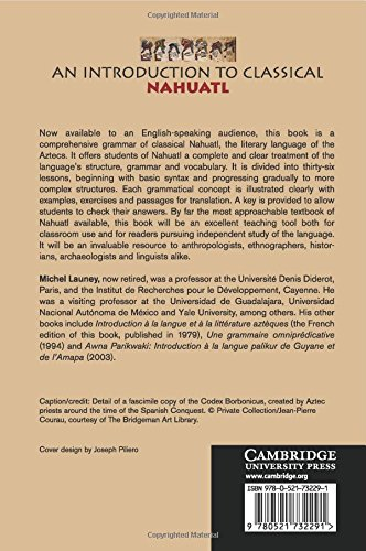 An Introduction to Classical Nahuatl by Cambridge University Press