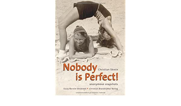 nobody is perfect  amazoncom books nobody is perfect hardcover