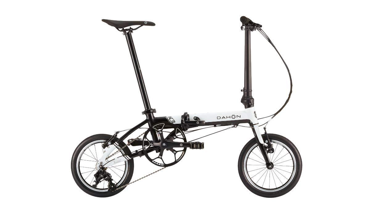 DAHON(ダホン) K3 ホワイト/ブラック 2019年モデル 14インチ 折りたたみ自転車 B07HQRYFG6