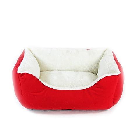 Cama para Perros Premium Peluche Perro Camas cómodo ...