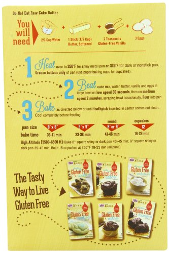 Amazon Betty Crocker Baking Mix Gluten Free Cake Mix Yellow