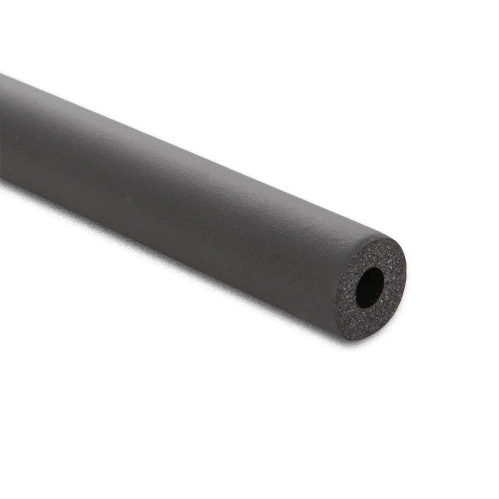 1 1/2'' ID Insulation Pipe, 3/4'' Thickness Nitrile Rubber Insulation Fire/Water Resistant AC Foam Pipe Cover by TB-FLEX
