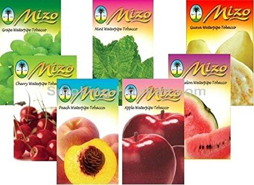 2 Pack Nakhla Mizo Shisha Molasses Premium Flavors 250g For Hookah (Choose Flavor)