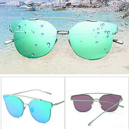 manera Verde sol del de peso Verde YXX muchacha muchacho la Gafas polarizadas UV400 ligero de de la conducción Color clásica vpw7nqU5