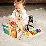 Fat Brain Toys Pound Tap Bench - My Little Mozart Musical Bench