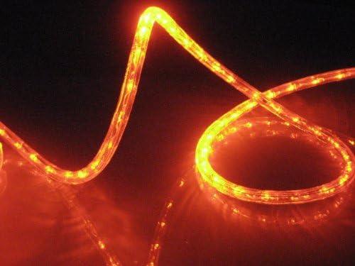 Amazon 10ft rope lights orange deep amber led rope light kit 10ft rope lights orange deep amber led rope light kit 10led spacing christmas lighting outdoor rope lighting aloadofball Choice Image