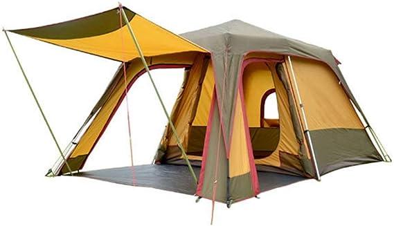 Tiendas de campaña Familia Camping Gran Espacio Automático Carpa Grande Una habitación Un salón Pesca Aluminio Pérgola 3 Personas 4 Personas al Aire Libre Tiendas de campaña: Amazon.es: Hogar