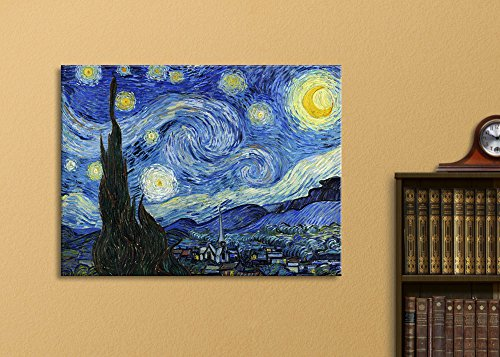 wall26 starry night by vincent van gogh canvas wall art modern home